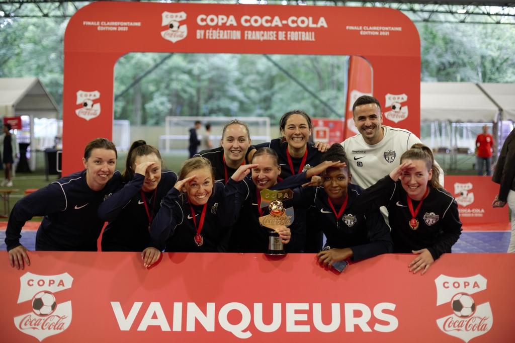 Nantes Métropole, vainqueur de la Copa Coca-Cola, aux dépens de Décines-Chassieu