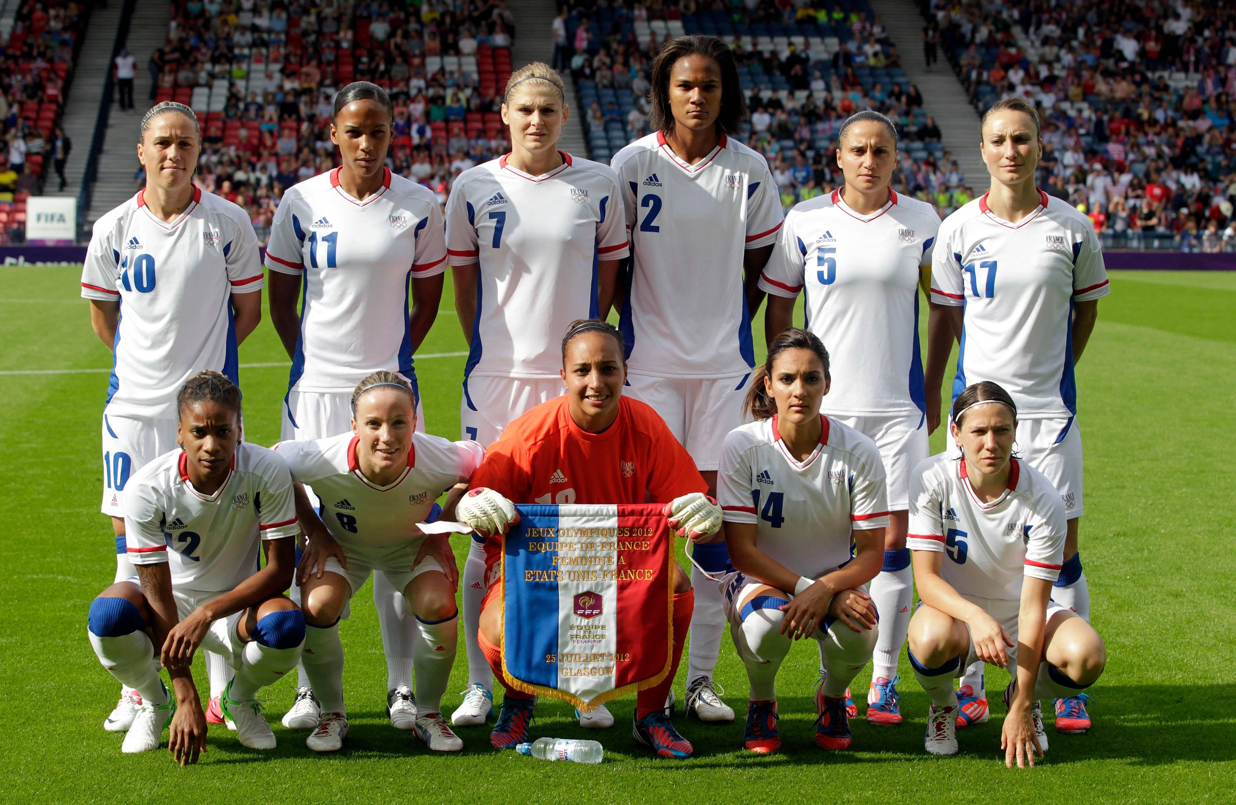 EDF féminine JO 2012