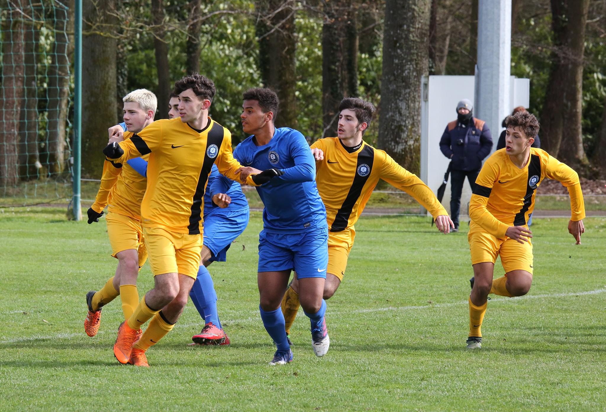 Challenge Jean-Leroy 2018, football scolaire