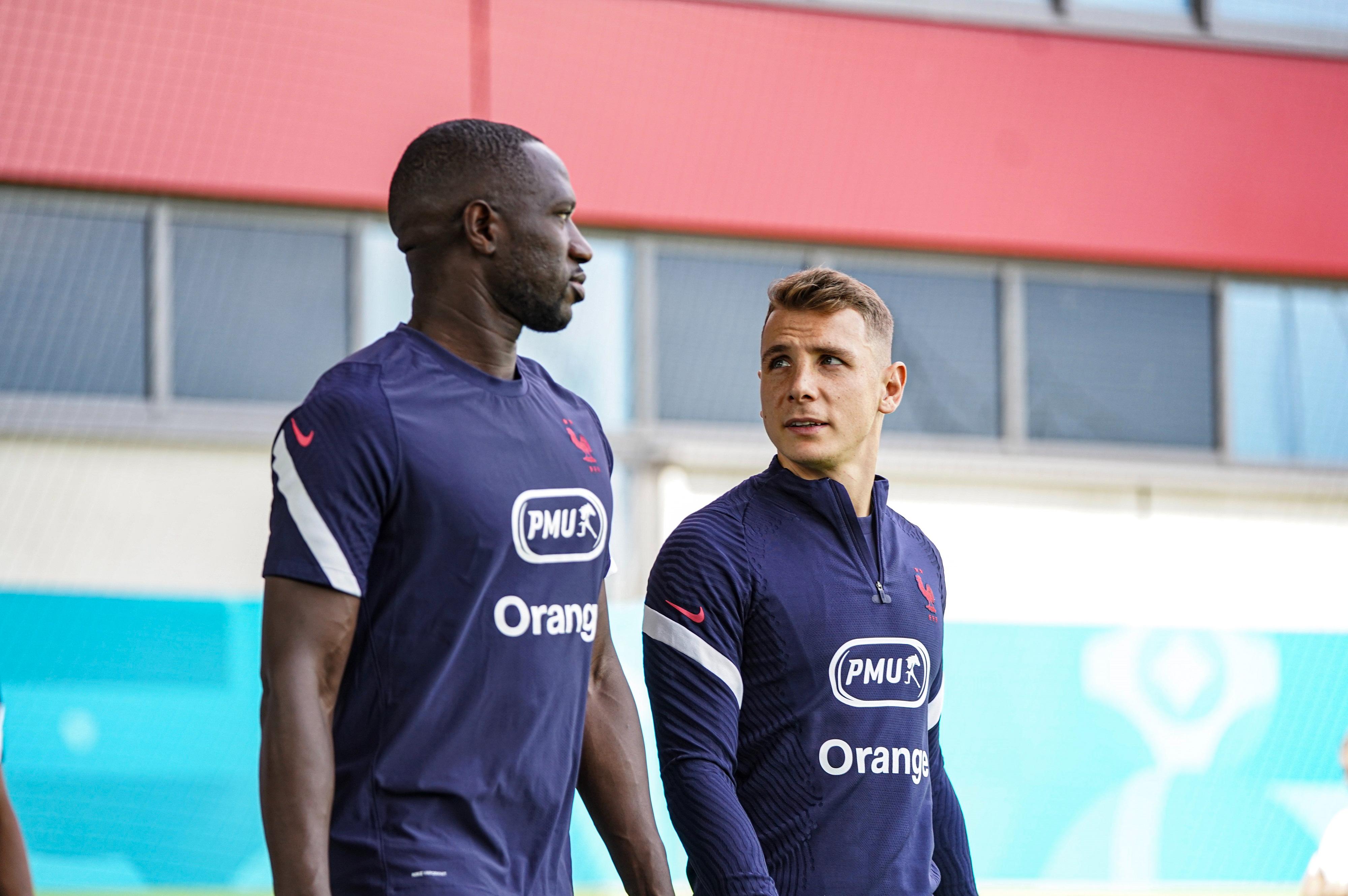 Moussa Sissoko et Lucas Digne