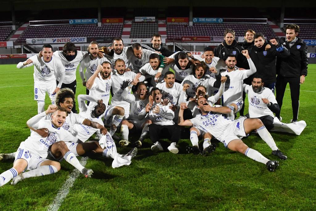 SC Bastia champion du National 2020-2021