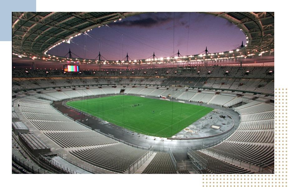 1998 : le nouveau stade