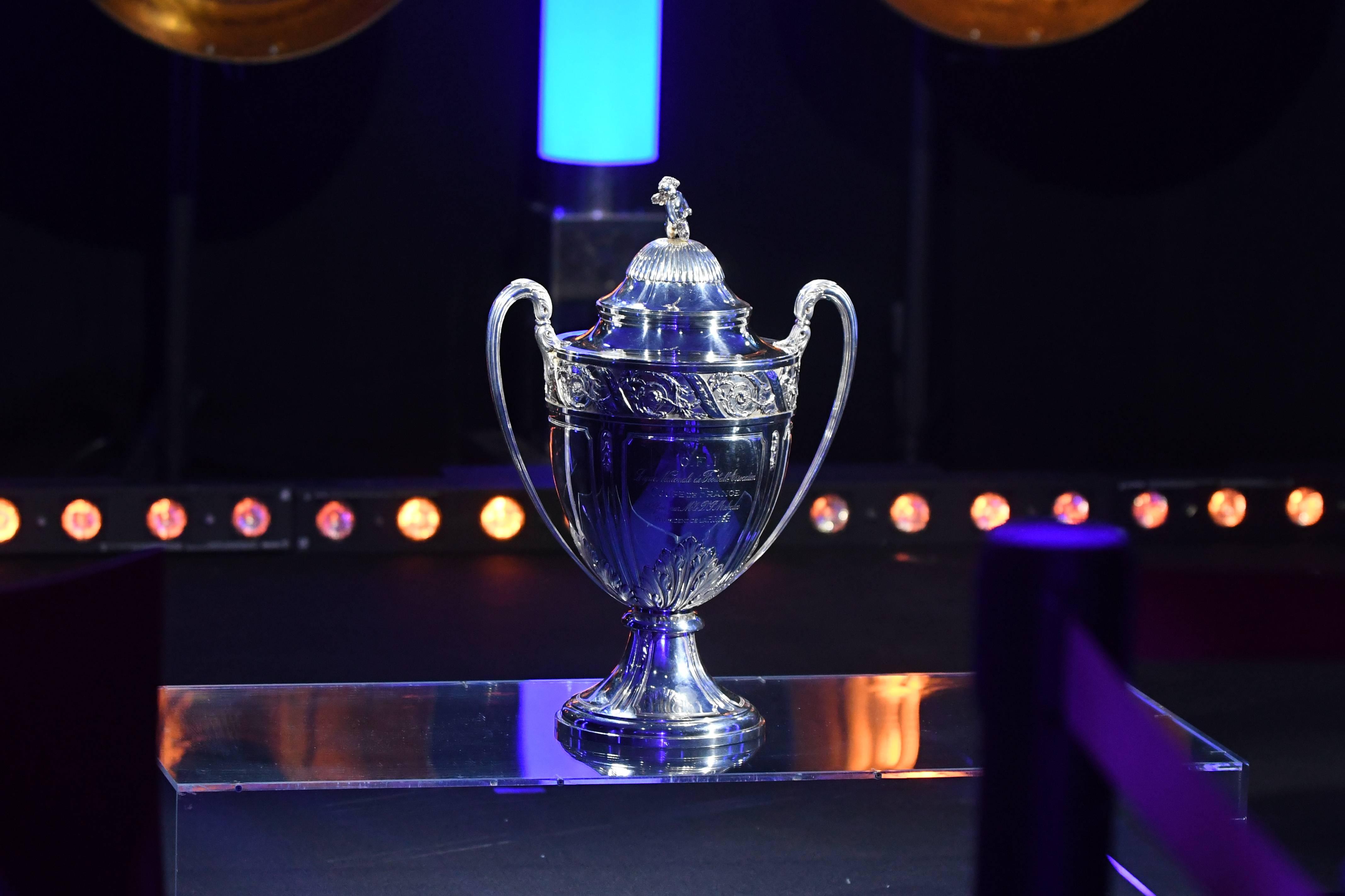 Coupe de France trophée photo illustration