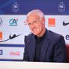 Didier Deschamps lors de l'annonce de la liste
