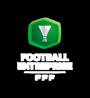 Logo Coupe nationale Foot Entreprise header mention blanche saison 2020-2021