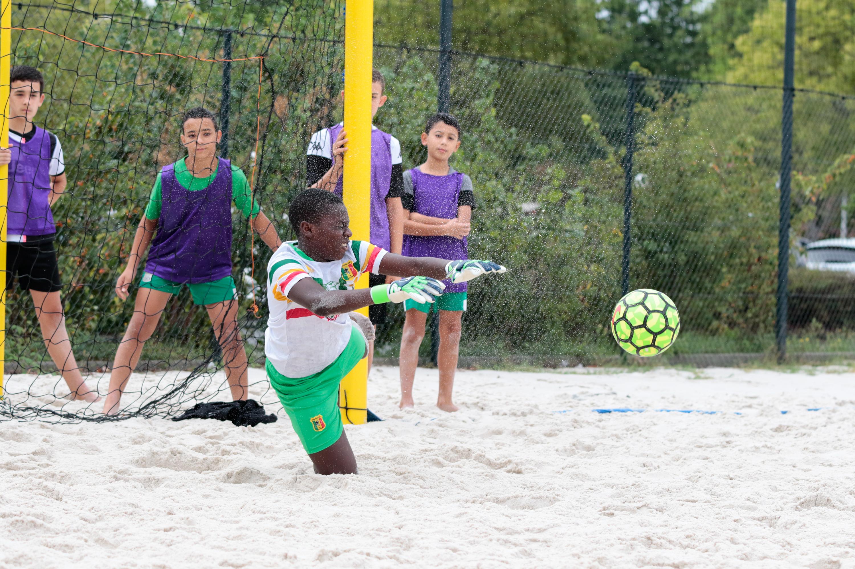 Rentrée du foot Jeunes Football amateur beach soccer