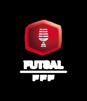 Logo Coupe nationale Futsal header mention blanche saison 2020-2021