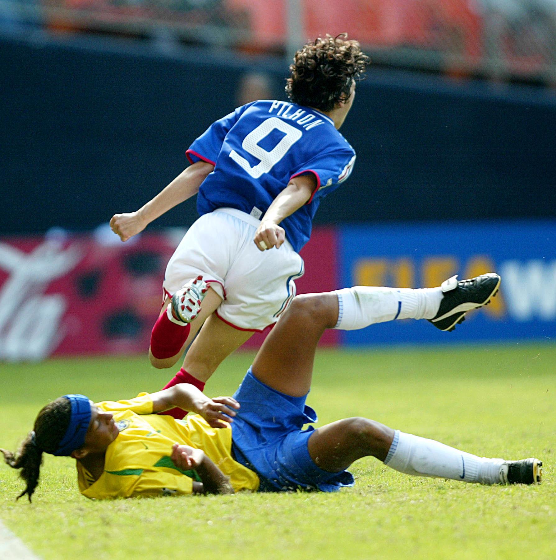 EDF féminine France-Brésil Coupe du monde 2003