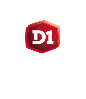Logo D1 Futsal header mention blanche saison 2020-2021