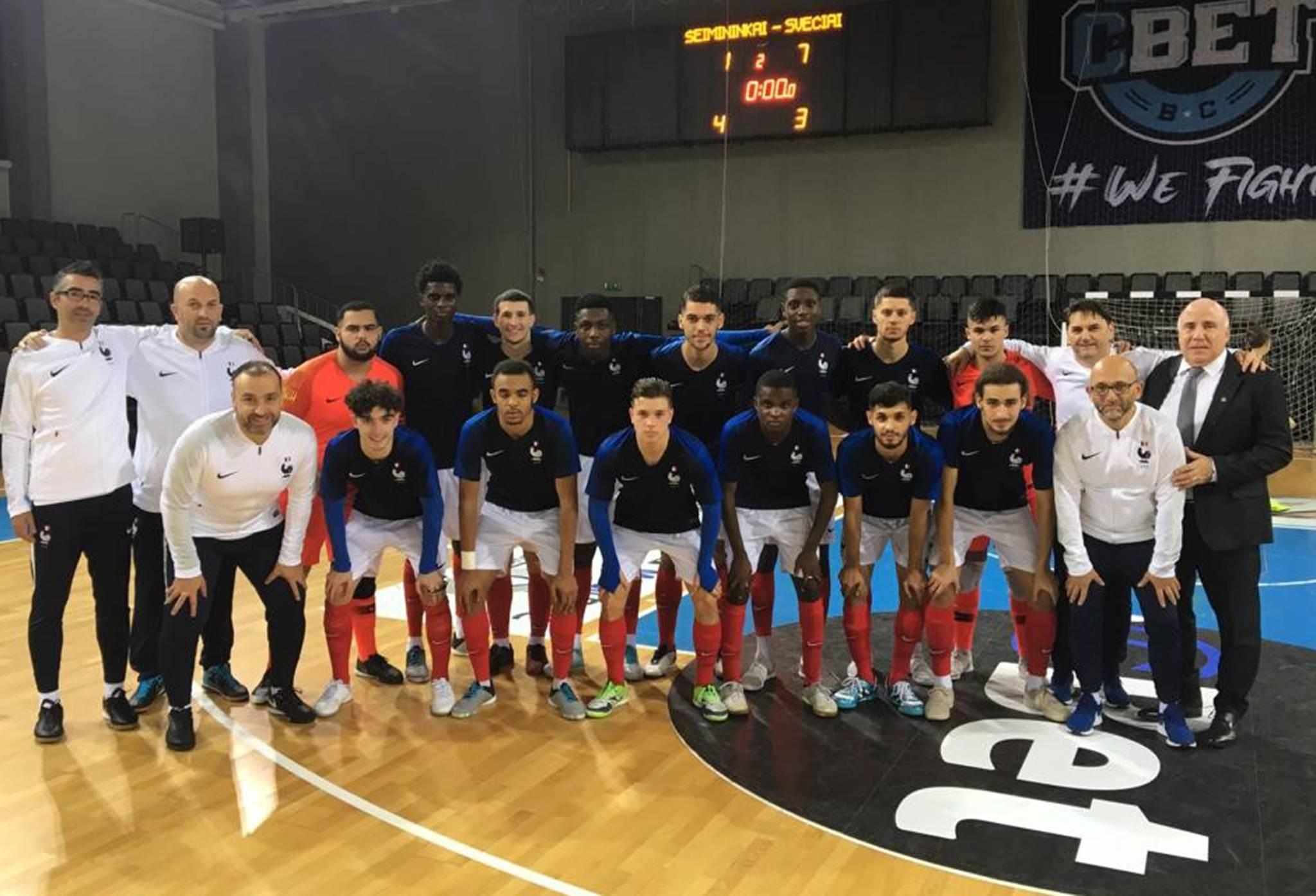 Lituanie-France U21 Futsal