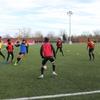 Entraînement US Orléans avant 8e Coupe Gambardella, février 2020