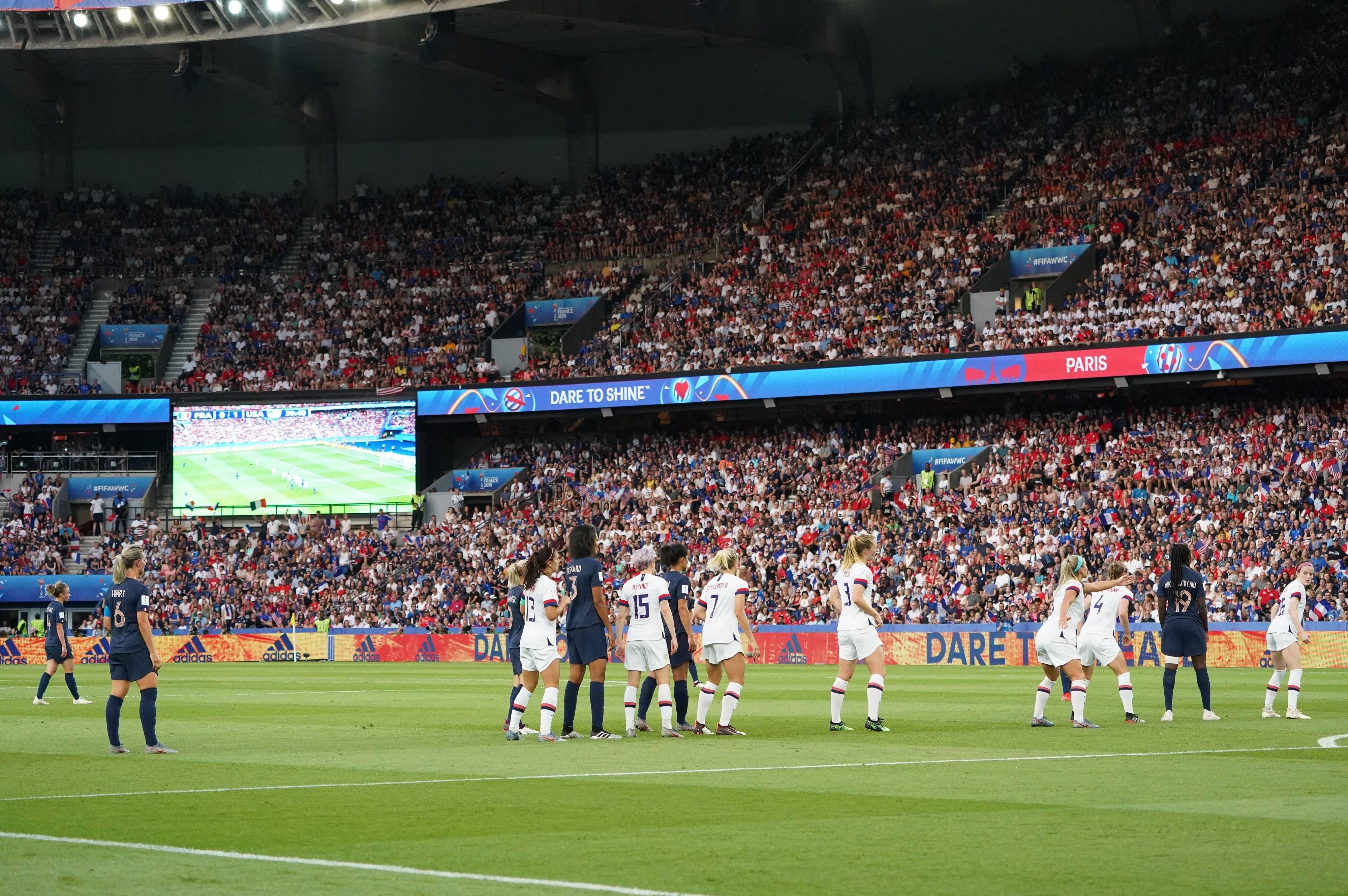 Coupe du monde féminine 2019 France-USA