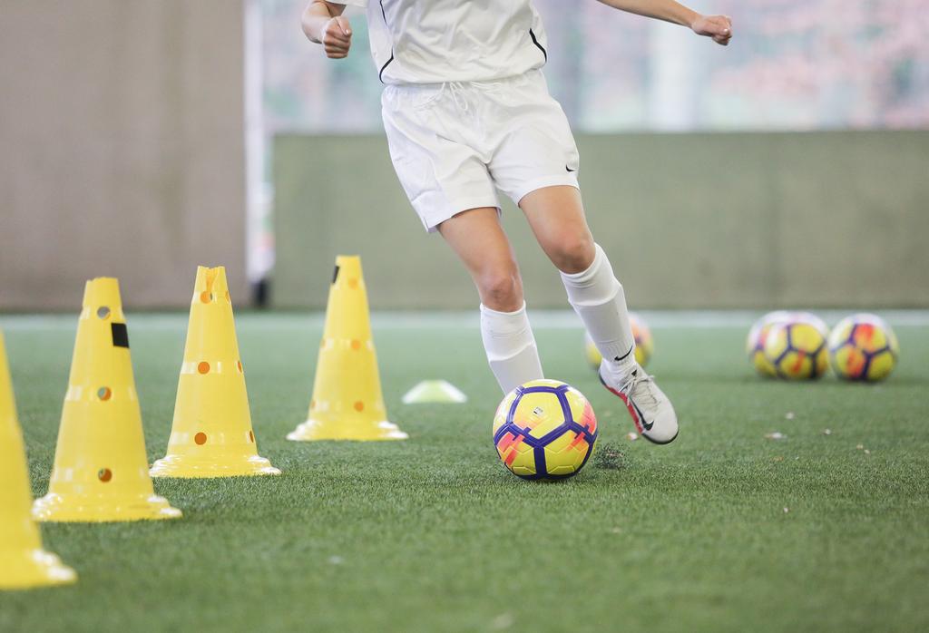 Entraînement football amateur