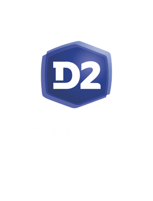 Logo D2 féminine header mention blanche saison 2020-2021