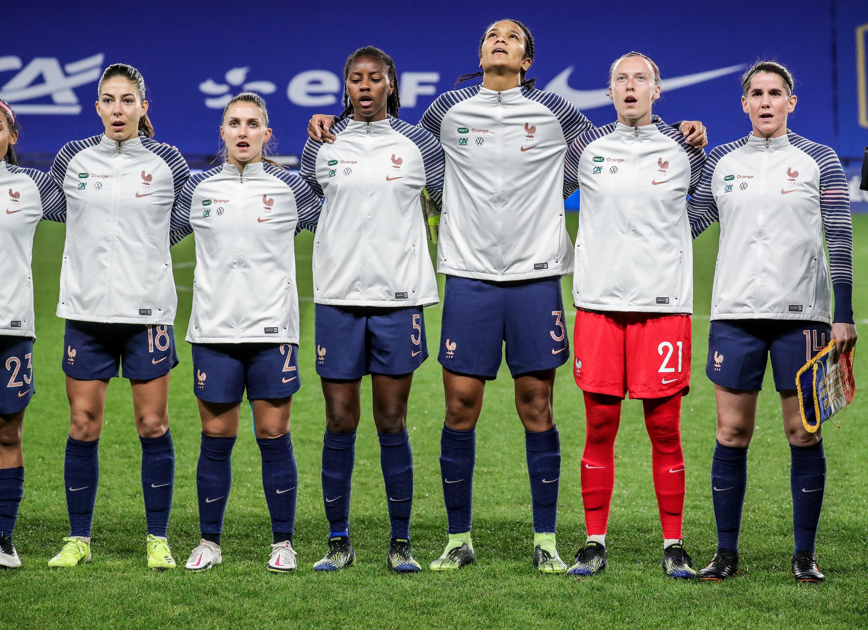 Equipe de France féminine Marseillaise