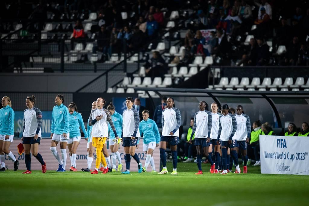 Slovénie-France féminine Katoto Qualifications Coupe du monde 2023
