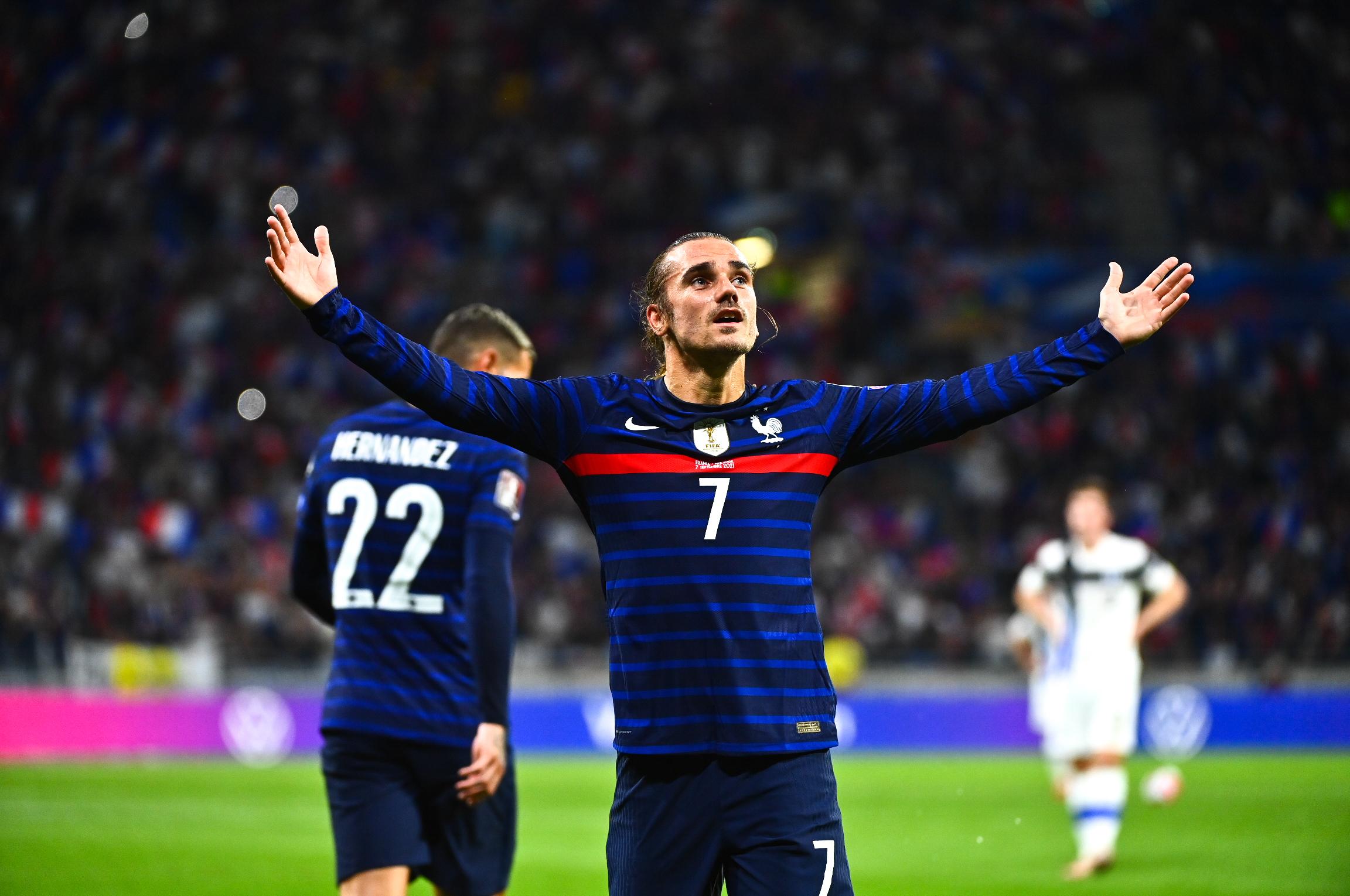 Antoine Griezmann ouvre le score pour les Bleus