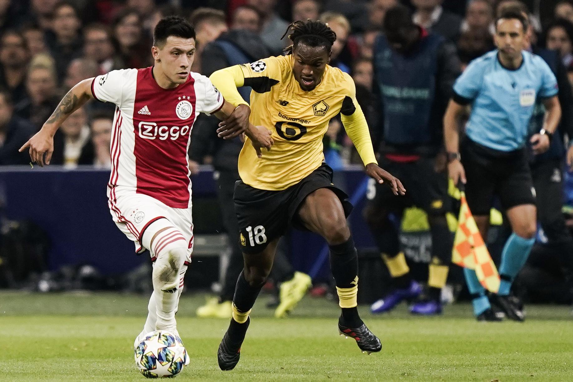 Tirage Ligue Europa Lille Ajax Amsterdam 2019-2020