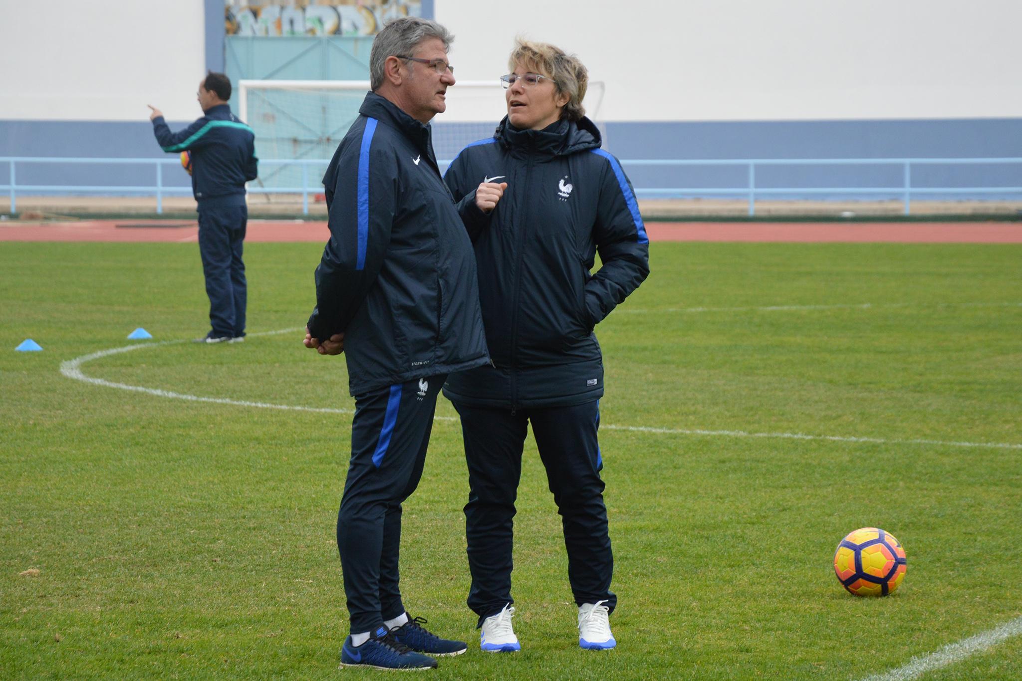 Dominique Dulain et Cécile Locatelli