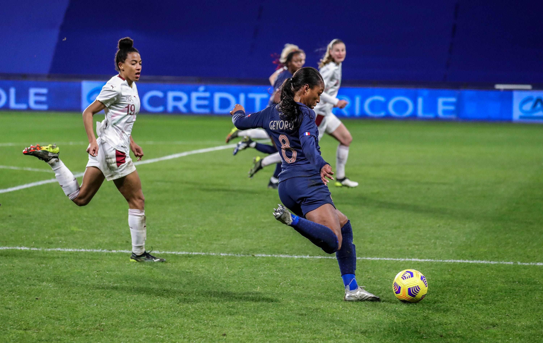 Grace Geyoro France-Suisse 23/02/2021
