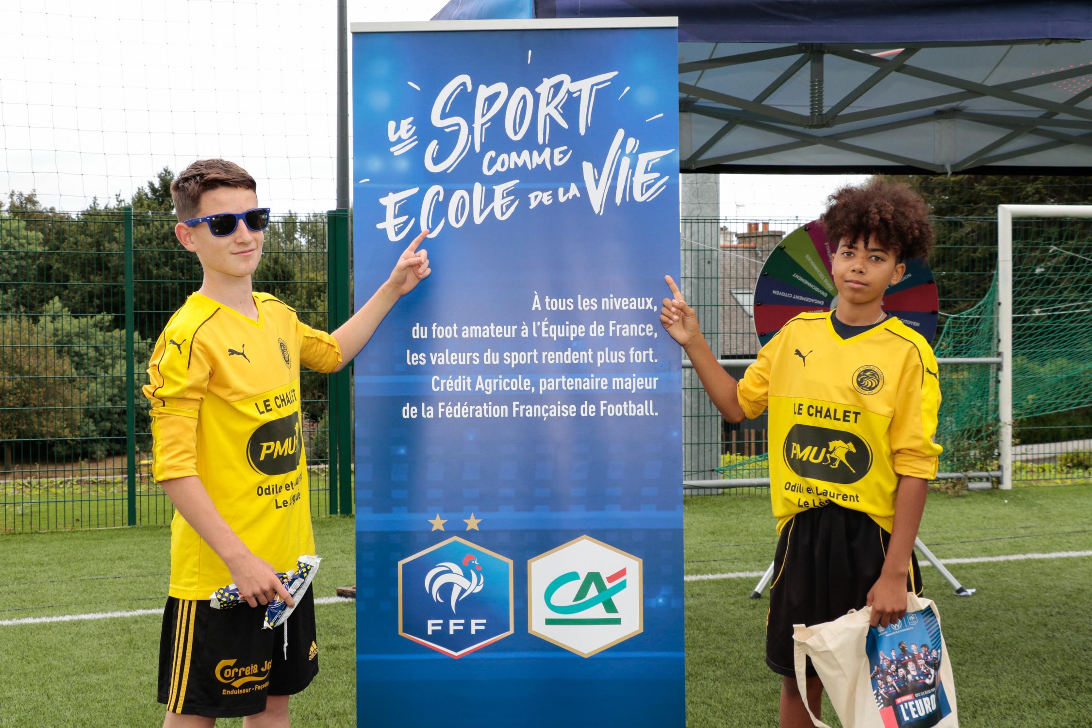 Tournée reprise foot amateur Bretagne