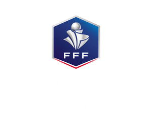 Logo Coupe de France féminine blanc