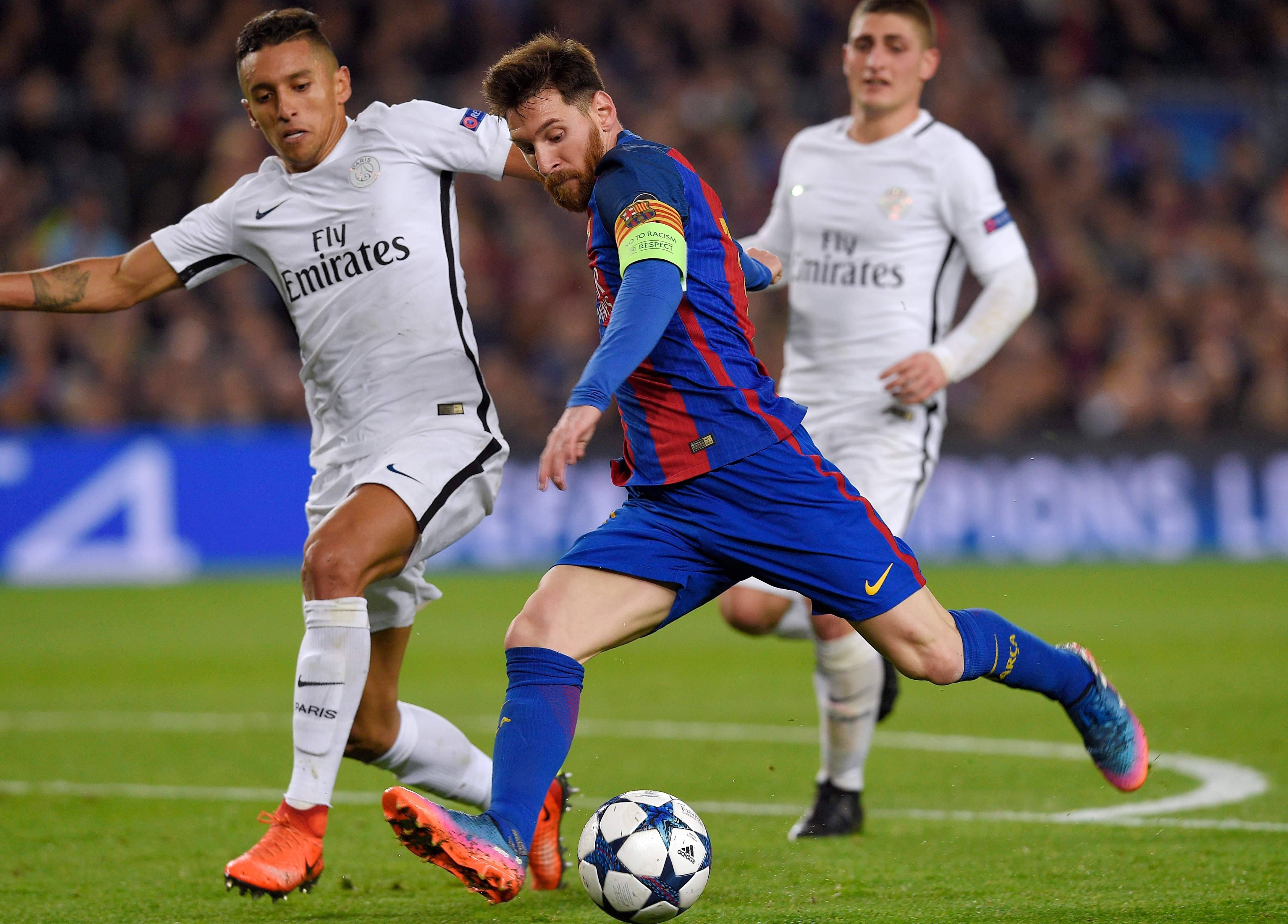 PSG FC Barcelone Ligue des champions 2016-2017 Lionel Messi