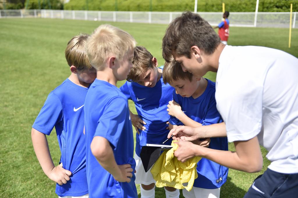 football amateur enfants PEF