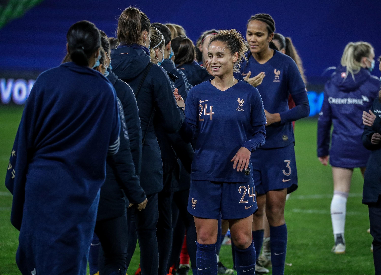 Ella Palis France-Suisse 23/02/2021